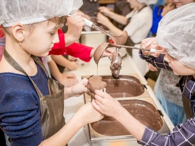 Шоколадная сказка в Саратове